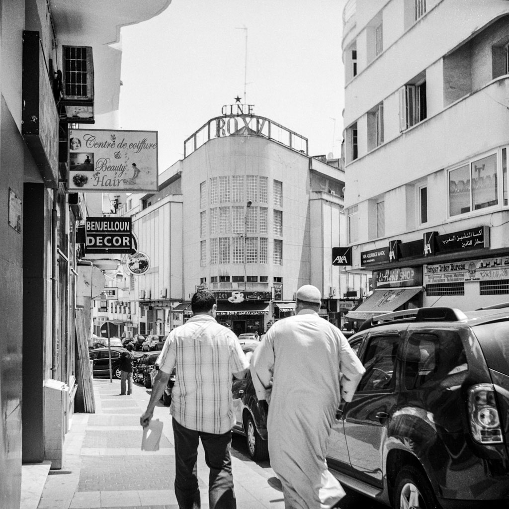 Escapade cinéphile à Tanger : cinéma Roxy de loin