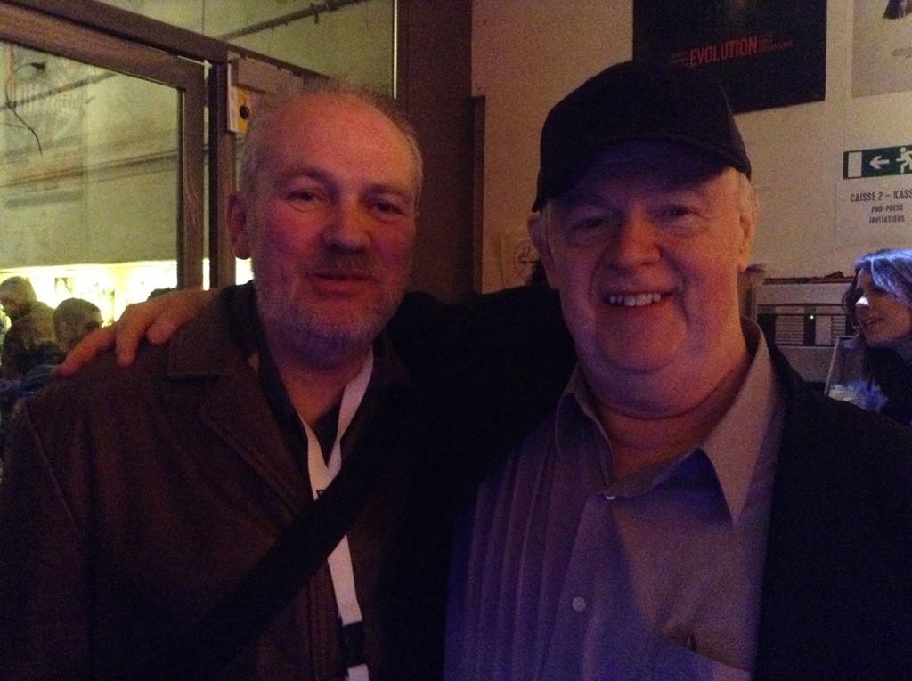 Pete Tombs et Frank Henenlotter au Nova