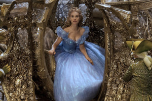 Cendrillon de Kenneth Branagh avec Lily James
