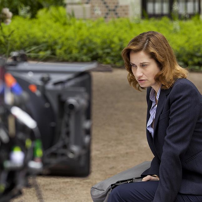 Sur le tournage de On a failli être amies de Anne Le Ny. Photos © Carole Bethuel