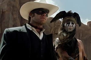 Lone Ranger de Gore Verbinski