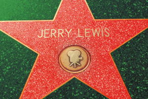 Portrait de Jerry Lewis : Walf of Fame, hollywood