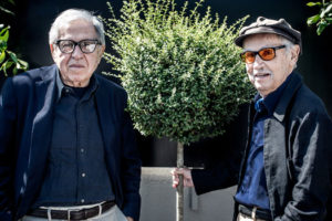 Entretien de Paolo et Vittorio Taviani, réalisateurs et scénaristes. © Yann Vidal