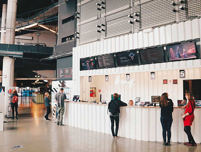 Arrêt à Wroclaw en Pologne, Capitale Européenne de la Culture en 2016, pour visiter le Kino Nowe Horyzonty. / Kino Nowe Horyzonty © Mickael Arnal et Agnès Salson.