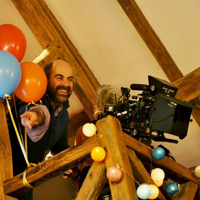 Sur le tournage de La Ritournelle : Marc Fitoussi © Yann Véronneau