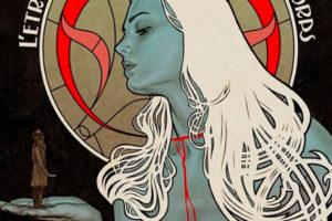 Affiche de L'étrange couleur des larmes de ton corps, créée par Gilles Vranckx.