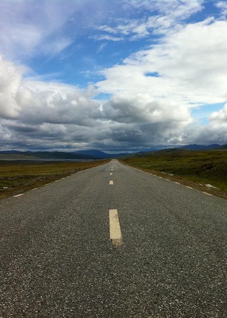 Jean-Pierre Darroussin vu par Anna Novion : repérages en Suède pour le film Rendez-vous à Kiruna : route.