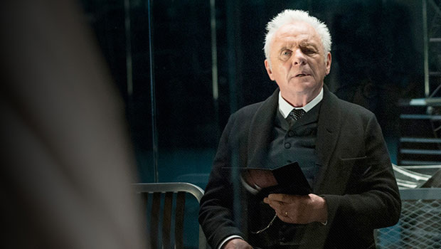 Couverture du Bande à Part 39 : Westworld, Anthony Hopkins