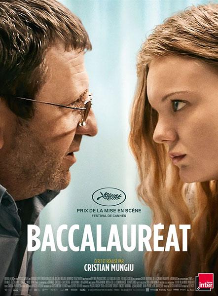 Affiche du film Baccalauréat de Christian Mungiu Partenaire de Bande à Part.