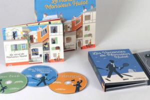 Le Monde de Monsieur Hulot, le coffret DVD