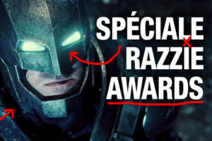 Stagiaire des affiches-Batman-Superman-Razzie Awards-Zack Snyder-Poster