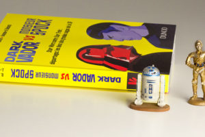 Dark Vador VS Monsieur Spock livre Dunod - figurine Star Wars
