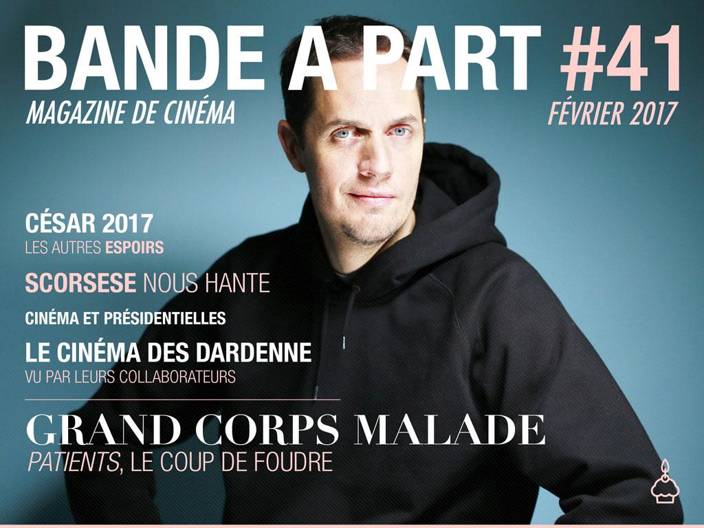 Couverture du Bande à Part 41 : Grand Corps Malade - photo de Olivier Roller