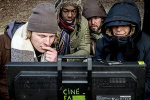 magazine de cinéma - La CinéFabrique à Lyon - L'école de cinéma publique - Tournage : Page Blanche - Isabelle Czajka