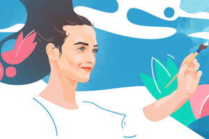 Magazine de cinéma - Charlotte Le Bon Interview - illustration Timothée Lestradet