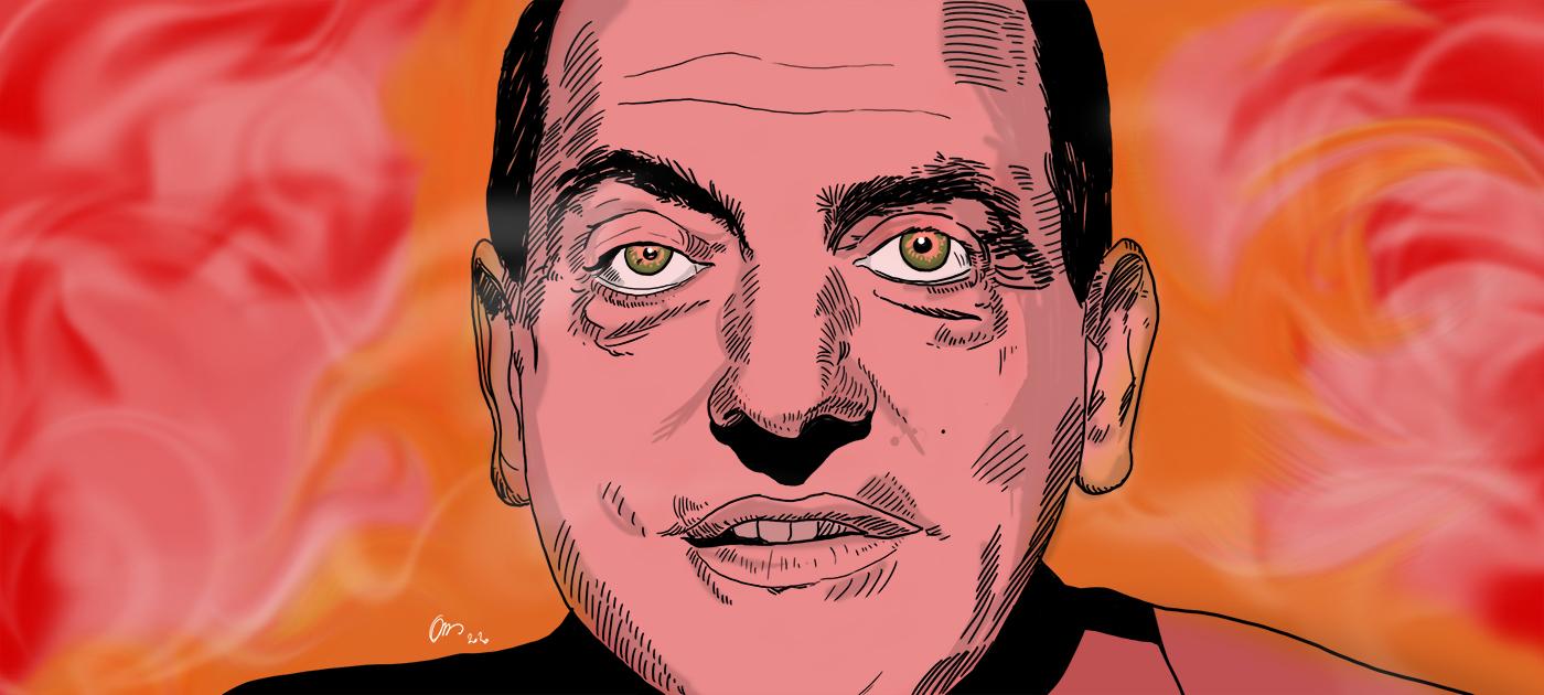 Dossier Buñuel - illustration Olivier Bombarda