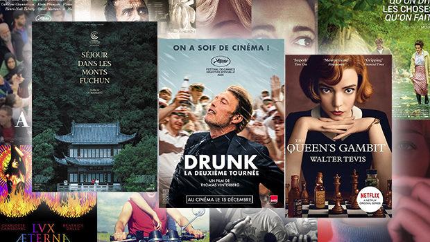 Tops des meilleurs films et séries de 2020 par BANDE À PART !