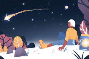 Magazine de cinéma - Histoires magiques - Illustration Timothée Lestradet