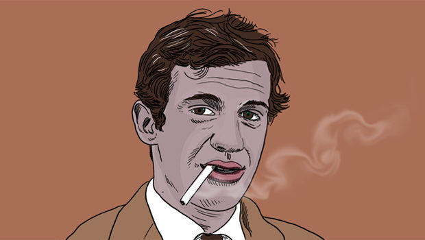 Jean-Paul Belmondo - Illustration : OB